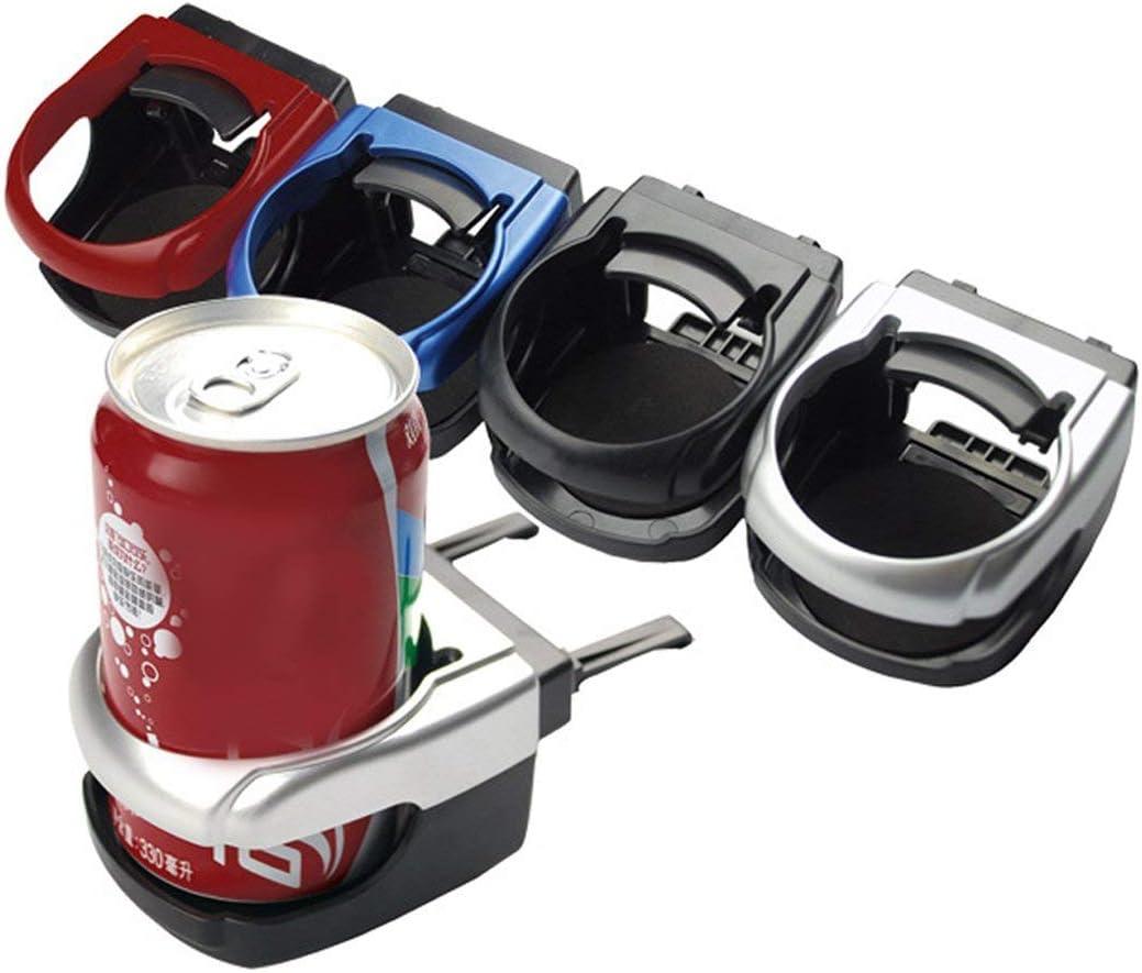 farbe: Rot Auto Auto Air Vent Flasche Kann Kaffee Trinkbecher Halter Halterung Fach Multifunktionale Auto Getr/änkehalter Innen Organizer
