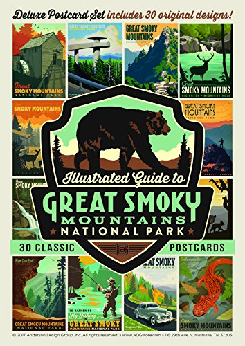 Zion National Park Usa Framed (Great Smoky Mountains National Park 30-Piece Postcard Set)