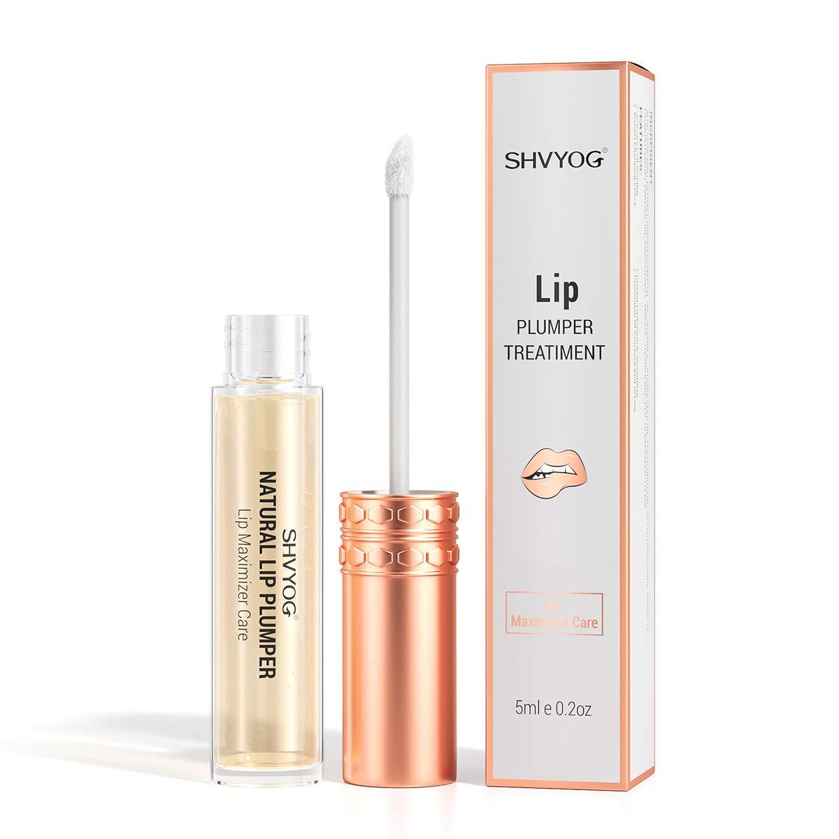 Natural Lip Plumper, Lip Enhancer Fuller Lip Plumping Balm Lip Care Serum Moisturizing & Hydrated Sexy Lips, Maximizer Lip Care