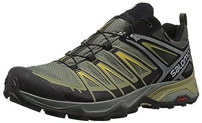Salomon Men's X Ultra 3 GTX Shoes & Spare Quicklace Kit Bundle