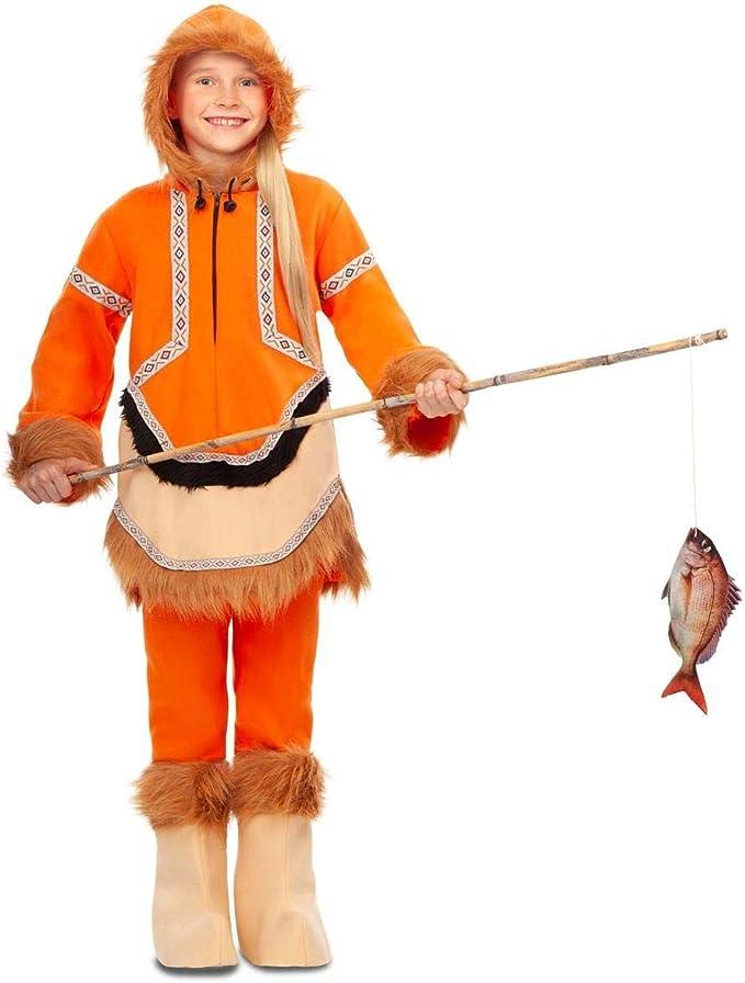 My Other Me Disfraz de Esquimal Naranja para niña: Amazon.es ...