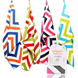 YOYOPA Microfiber Beach Towel Oversized - Quick Dry Towel for Swimmers, Great for Beach Trips, Travel, Pool, Yoga, Picnic and Camping (Extra Large XL 78x35) for Kids & Adults.