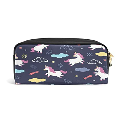 Cloud Star Unicorn Leather Wallet Case