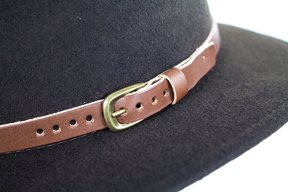 f79ea551 City Sport Caps Hillstone Crushable Fedora - Brown: Amazon.co.uk: Clothing