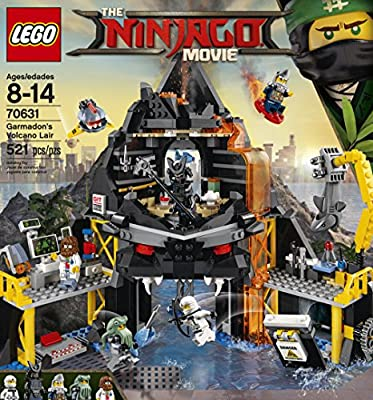 LEGO Ninjago Movie Garmadon's Volcano Lair 70631 from LEGO