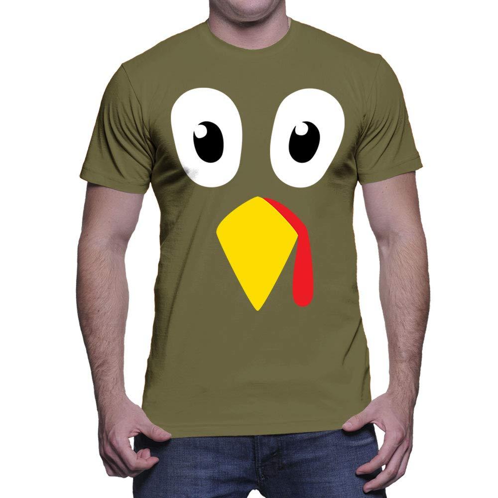 Turkey Face T Shirt 5827