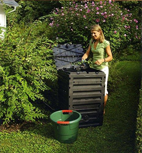 Exaco 628001 Eco-Master Polypropylene Composter, 120-Gallon, Black by Exaco Trading Company (Image #3)