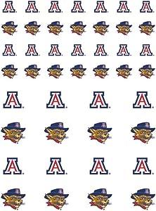 The Fanatic Group Arizona Wildcats Small Sticker Sheet - 2 Sheets
