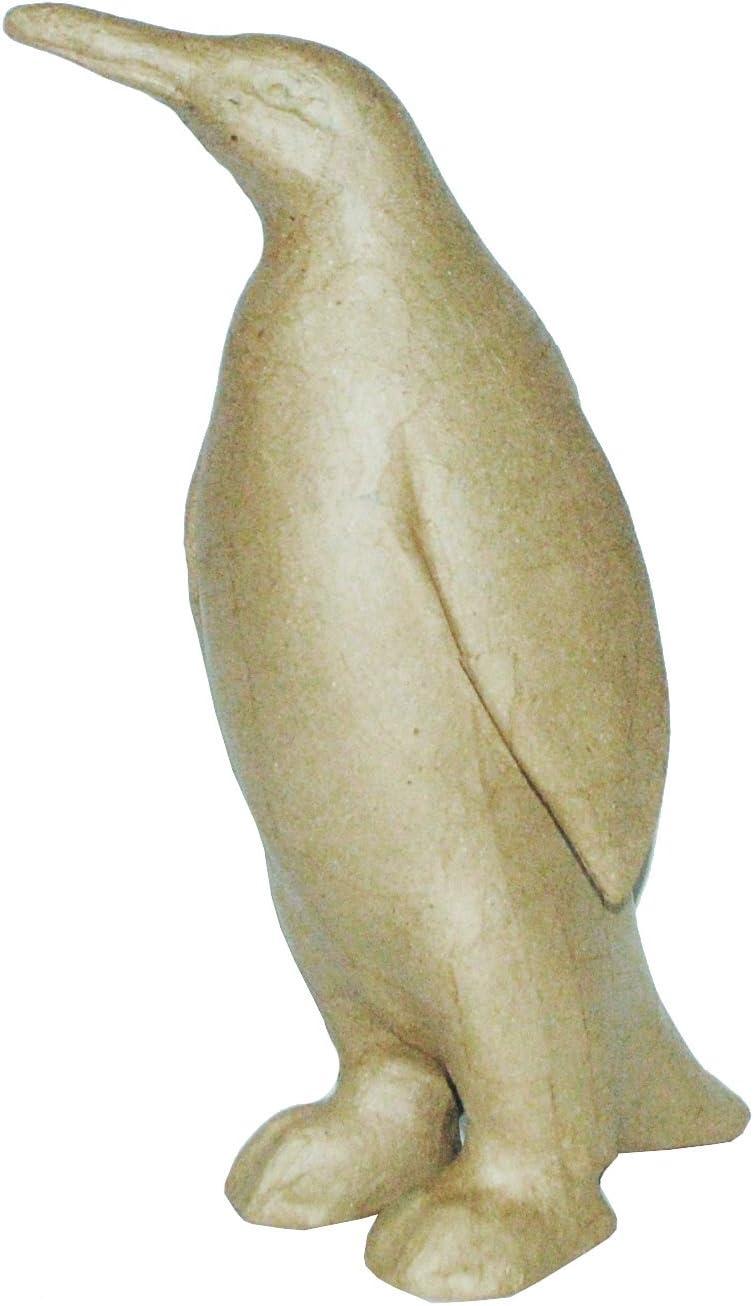 Brown 16 x 6 x 21 cm d茅copatch Mache Unicorn