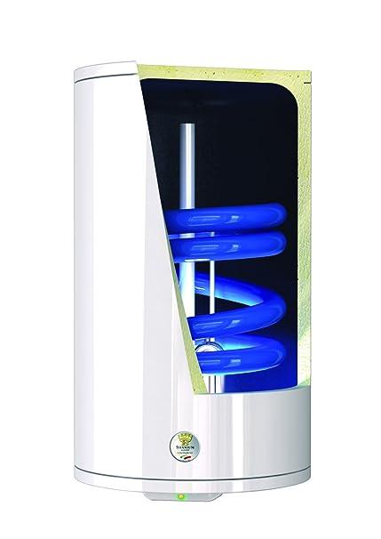 Bandini Braün - Termo de agua eléctrico cilíndrico vertical con serpentina, enganches a la izquierda