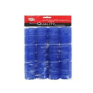 Hair Tools Cling Rollers Large Dark Blue (12pk x 40mm)