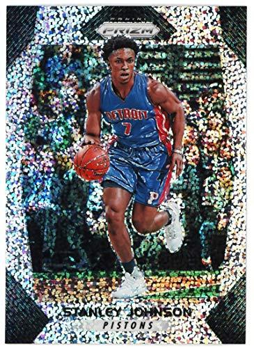 Less Piston - Stanley Johnson 2017-18 Panini Prizm Prizms White Sparkle #176#/20 or less NM-MT Pistons Basketball NBA