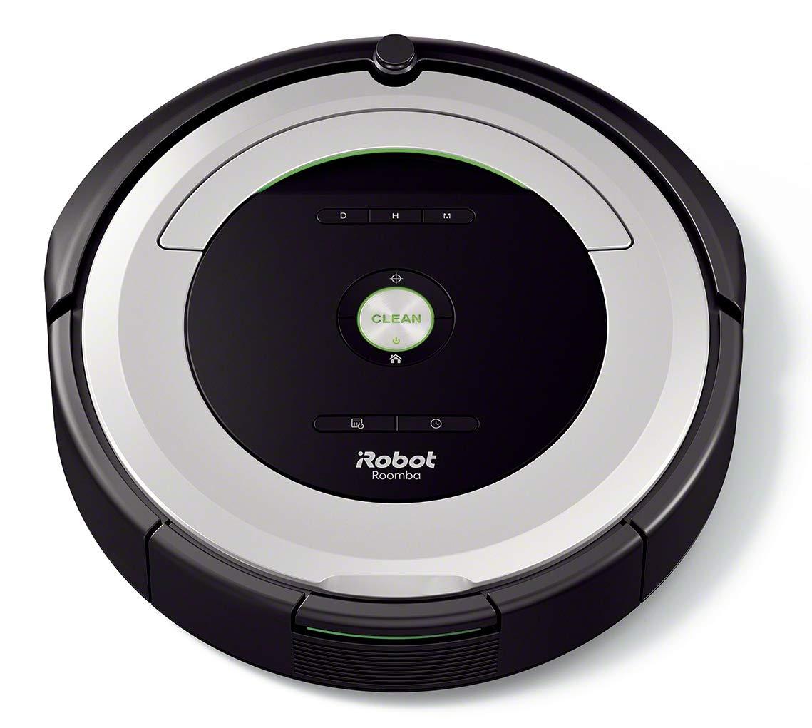 con tecnolog/ía Dirt Detect programable sistema de limpieza en 3 fases iRobot Roomba 680- Robot aspirador para suelos duros y alfombras