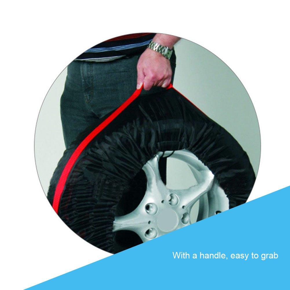 Majome Auto-Fahrzeug-Ersatz-Reifen-Abdeckungs-Schutz-Schutz Auto-Tragbare dauerhafte Aufbewahrungstasche