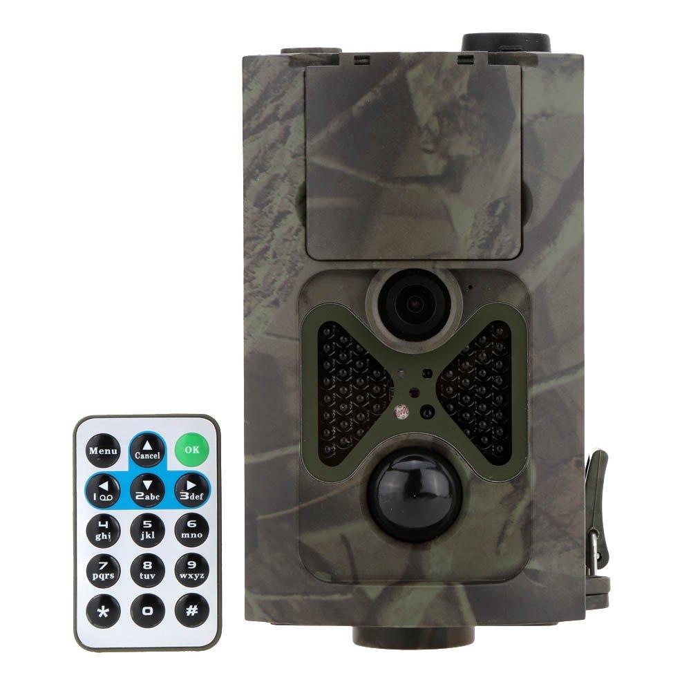 Lixada 120°広角  トレイルカメラ 2.0 インチ液晶 12MP HD 赤く光らない赤外線 48個LED 動体検知 &防水赤外線 防犯カメラ 940NM IR LED 暗視 1080p フルHD カメラ [狩猟モニターカメラ][赤外線 人感センサー カメラ][家庭用 監視カメラ] B01LZ4TWLV