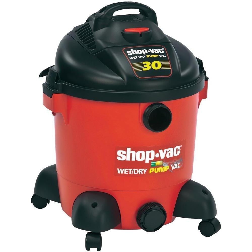 Shop Vac 5873824 Pump Wet Dry Vacuum Cleaner 30 Litre 1400 W Black Decker And Box Contains