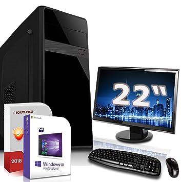 Onwijs Komplett PC Set Office/Multimedia inkl. Windows 10 Pro: Amazon.de JB-33