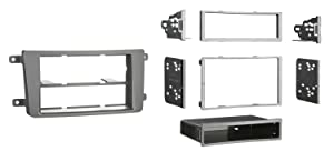 Metra 99-7516B Single DIN/Double DIN Installation Dash Kit for 2007-2009 Mazda CX9 (Black)