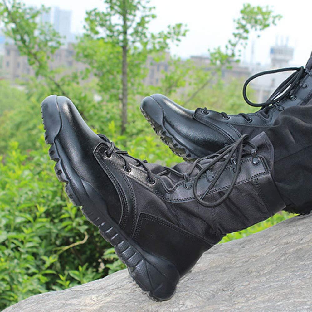 FXMYL Ultraleichte Kampfstiefel Outdoor-Militärstiefel Taktische Stiefel Kommando Männlichen Kampfstiefel Atmungsaktiv Atmungsaktiv Atmungsaktiv e85d11