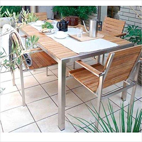 タカショー ライズ テーブルチェアー5点セット 『ガーデンチェア ガーデンテーブル セット』 B075XC4Z7X