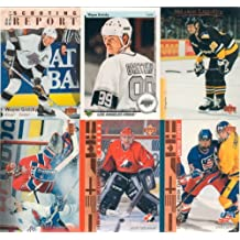 1995 1996 Upper Deck NHL Hockey Series Complete Mint Hand Collated 570 Card Set Loaded with Rookie Cards and Stars Including Patrick Roy, Joe Sakic, Mario Lemieux, Wayne Gretzky, Steve Yzerman, Brett Hull, Martin Brodeur, Ray Bourque, Chris Drury, Jose Theodore and Others.