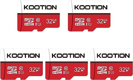 KOOTION Micro SD 32GB Clase 10 Tarjeta Memoria Micro SDHC Tarjeta ...