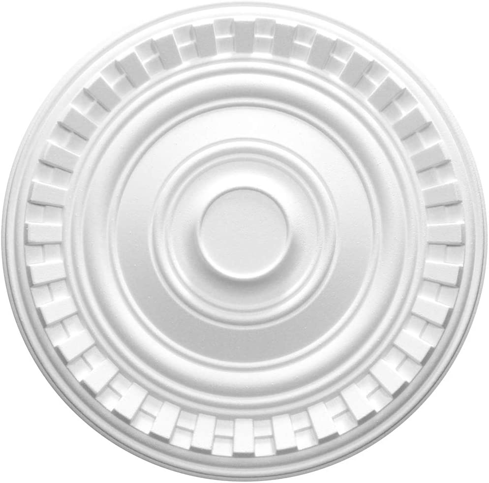 1 Rosetta Copertura Decorazione Interni Stucco Eps Decorazione Tutti Modelli /Ø 40cm R-05