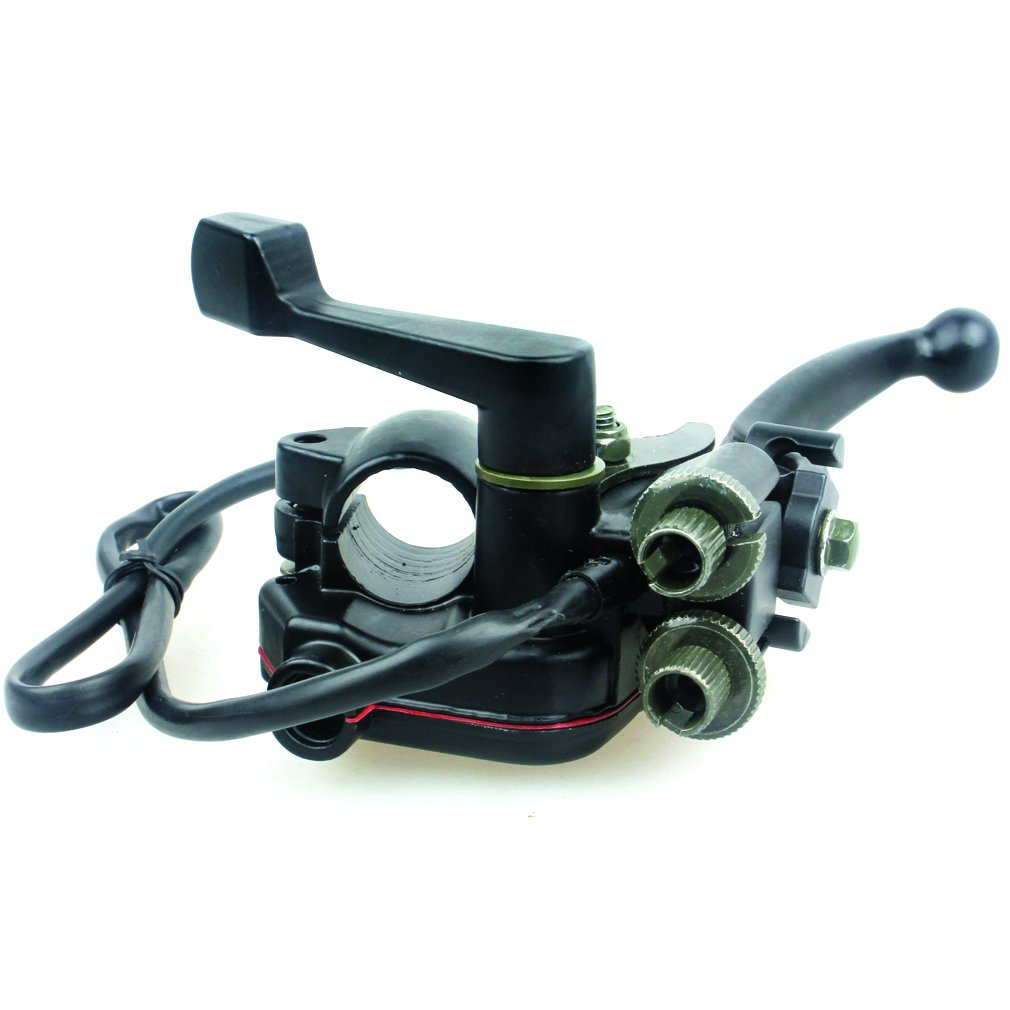Wingsmoto Thumb Throttle with Dual Brake Lever Assy for 50cc 90cc 150cc 250cc ATV Quad Roketa Taotao Sunl Kazuma by Wingsmoto (Image #8)