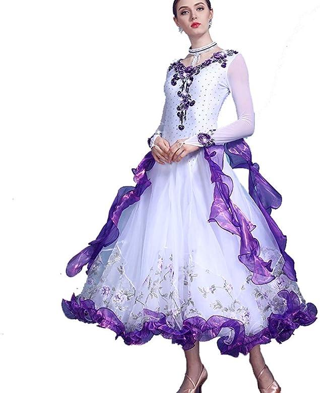 Women\'s Ballroom Dance Competition Dresses Plus Size ...