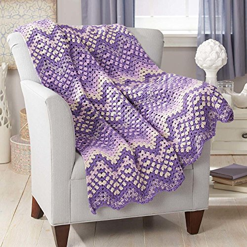 Herrschners® Serenity Crochet Afghan Kit by Herrschners®