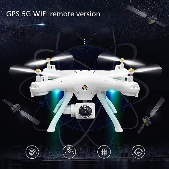 Cardith Attop W9 WiFi GPS 720P Cámara dron modo de altura Headless ...