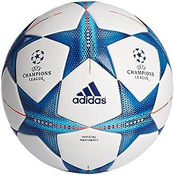 adidas Ball Fin15 OMB Balón, Hombre, Blanco/Azul, 5: Amazon.es ...
