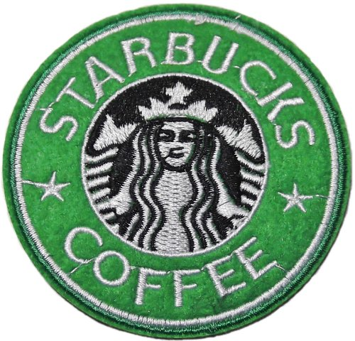 Starbucks Coffee 3 Inch Diameter Embroidered Patch