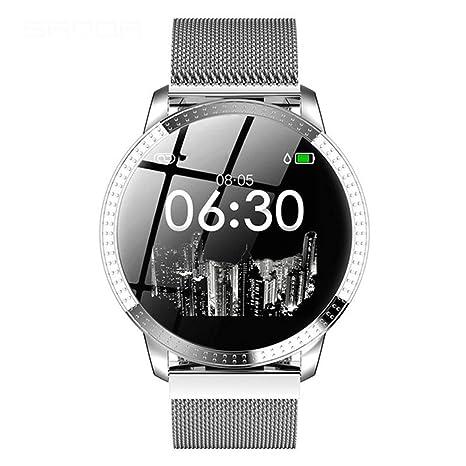 Amazon.com: CCDYLQ - Reloj inteligente para mujer con ...