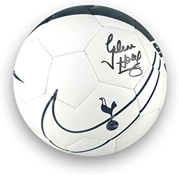 Glenn Hoddle Signed Tottenham Hotspur Soccer Ball Autographed Memorabilia At Amazon S Sports Collectibles Store