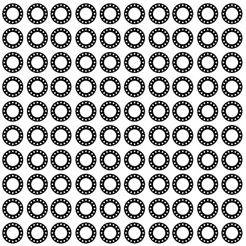 Pack of 50 1.31 ID Full Face Gasket Pressure Class 150# 1 Pipe Size Soft Sterling Seal CFF1501.100.125.150X50 1501 1//8 Thick Expanded Teflon//PTFE