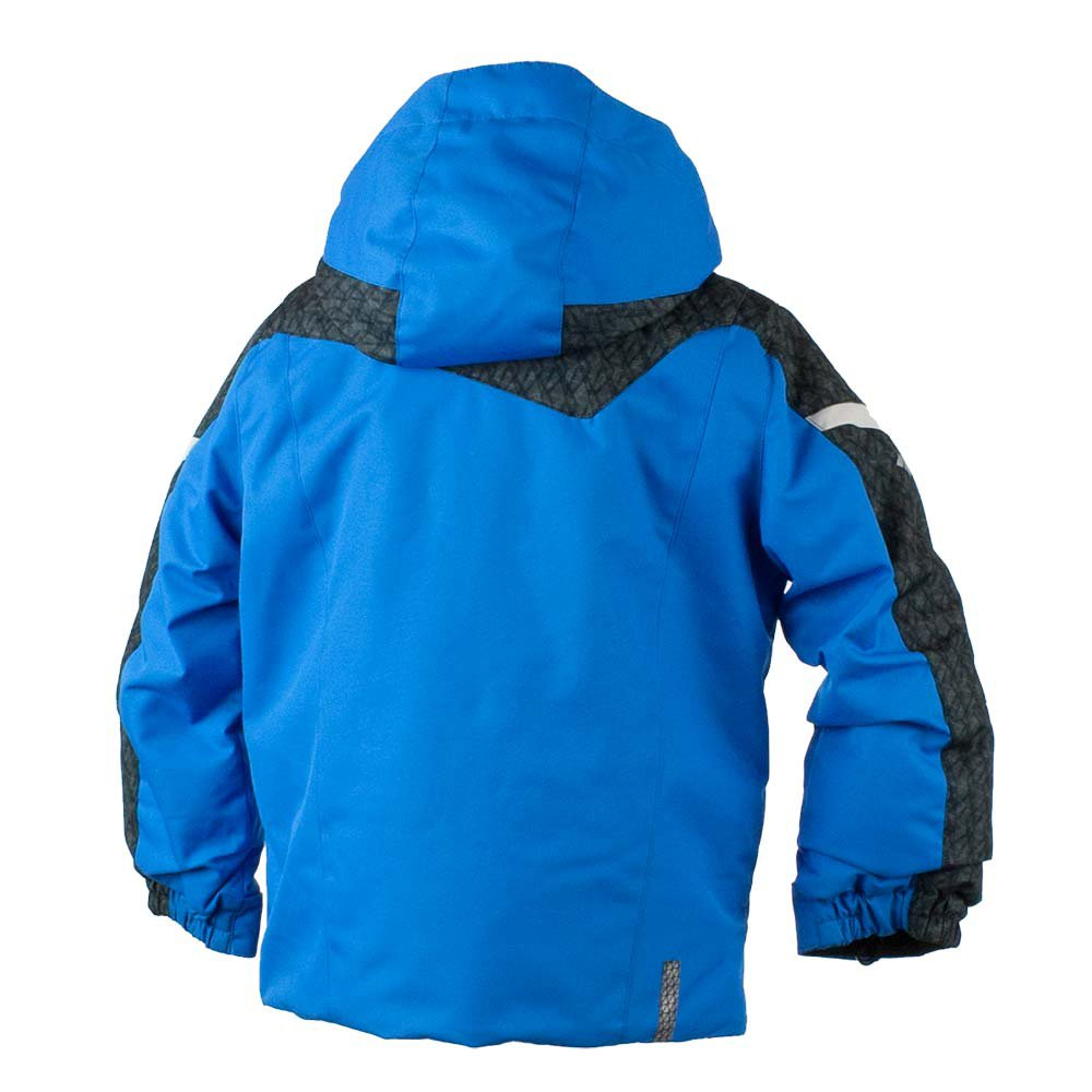 Obermeyer Kids  Baby Boy's Super G Jacket (Toddler/Little Kids/Big Kids) Stellar Blue 7 by Obermeyer Kids