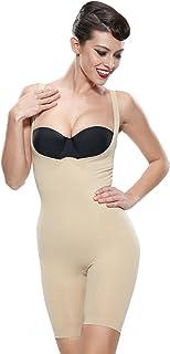 Franato Women's Shapewear Wear Your Own Bra Firm Tummy Control Body Shapers