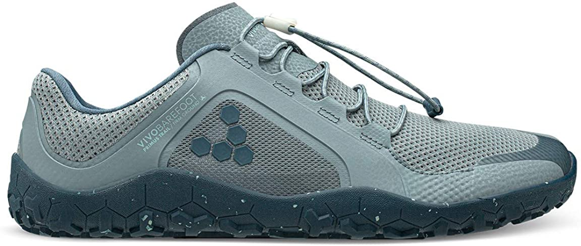 Recycled Breathable Mesh Off-Road Shoe with Barefoot Firm Ground Sole VIVOBAREFOOT Primus Trail FG Mens