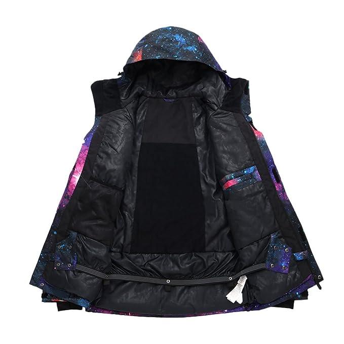 Deylaying Hombres Invierno Outdoor Sportswear Sudaderas con Capucha Traje de esquí Snowboard Impermeable Chaqueta Camping Abrigos: Amazon.es: Deportes y ...