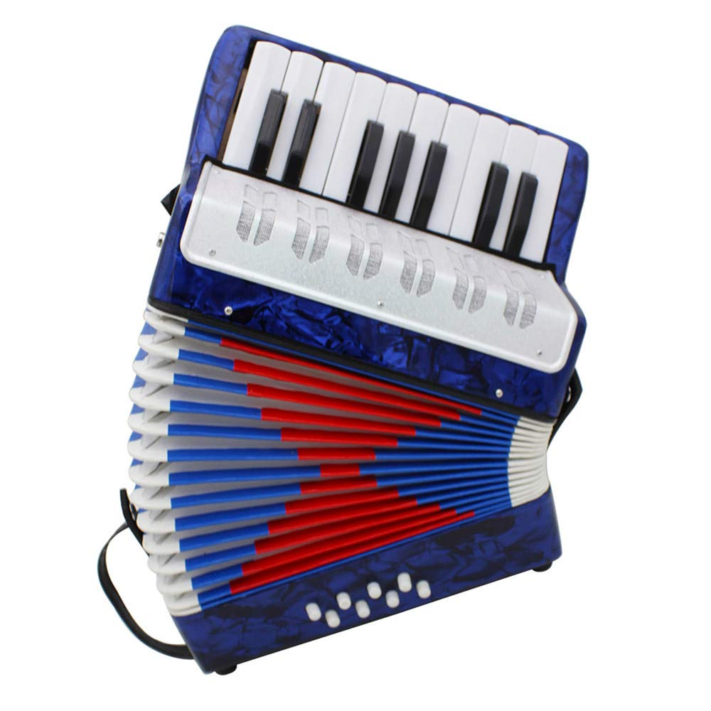 Accordions Mini Small 17-Key 8 Bass Educational Musical Instrument Toy for Kids Children Amateur Beginner by Accordions (Image #2)