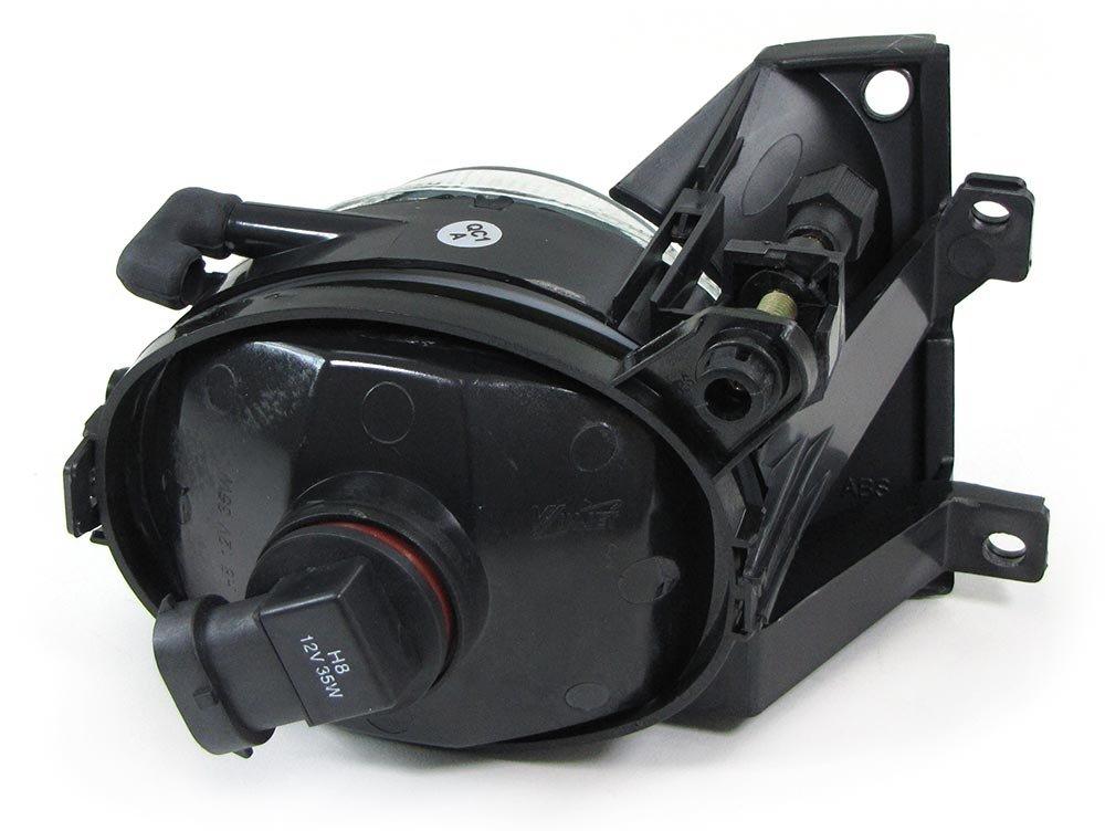 Carparts-Online 28539 Klarglas Nebelscheinwerfer H8 klar chrom Paar