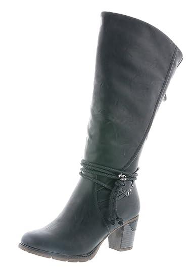 ad33e03727520b Rieker 96059-00 Schuhe Damen Stiefel Ankle Boot Varioschaft ...