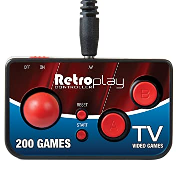 Retroplay Plug N Play 200 Game Controller - Connect Directly to TV & Play