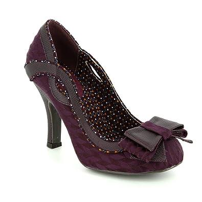 499bddfc7f8b5c Ruby Shoo Ivy Damen Schuhe Dunkel Rot  Amazon.de  Schuhe   Handtaschen
