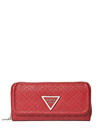 Guess red wallet LYRA (One Size - Red)  Amazon.co.uk  Clothing 1b199ecc41