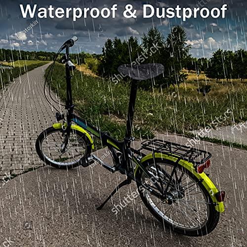ESKUTE Bike Frame Bag Bike Handlebar Bag Waterproof Bike Front Tube Cycling Pack with Large Capacity with Sun Visor Top Tube Bike Handlebar Bags Waterproof & Touchable Pouch Case