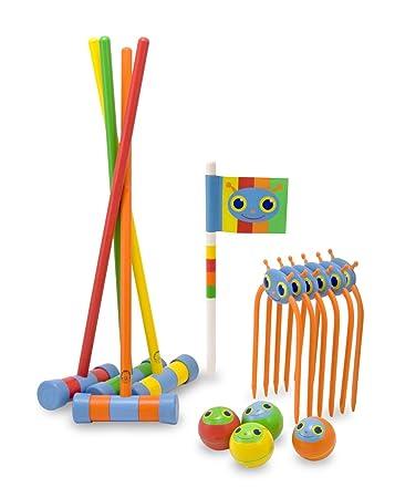 melissa u0026 doug sunny patch happy giddy croquet set - Croquet Set