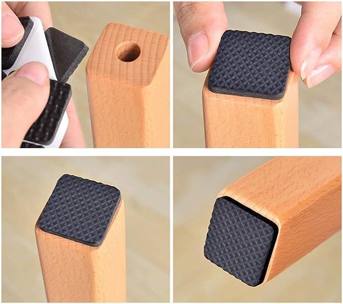 276pcs Premium muebles almohadillas Heavy Duty Auto Stick muebles almohadillas de fieltro para suelos de madera y claro almohadillas de amortiguaci/ón
