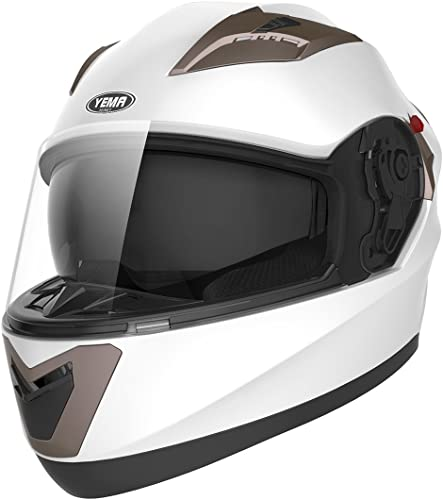 YEMA Helmet Unisex-Adult Motorcycle Full Face